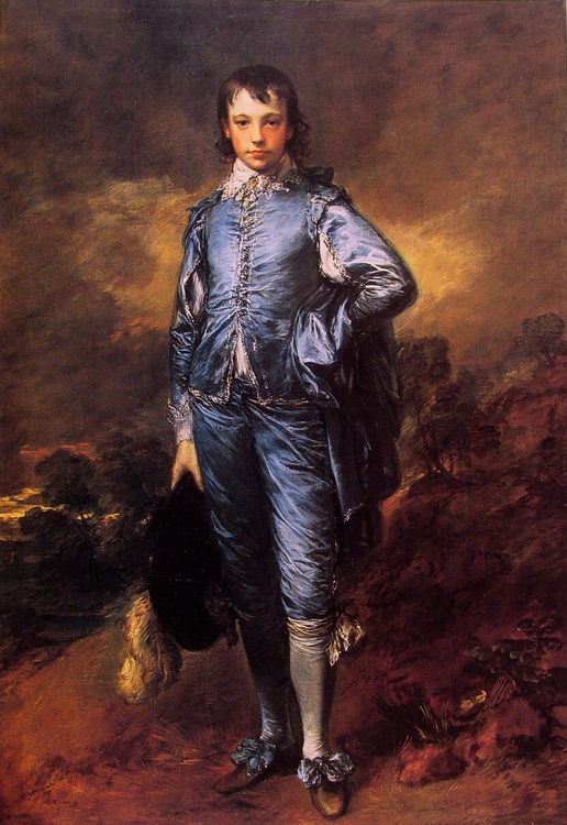 The Blue Boy (Jonathan Buttall) :: Thomas Gainsborough - Children's portrait in art and painting фото