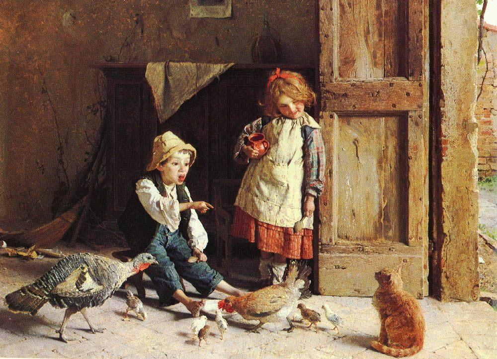 Discipline :: Gaetano Chierici - Children's portrait in art and painting ôîòî