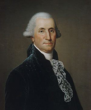 George Washington :: Adolph Ulrich Wertmuller - men's portraits 18th century фото