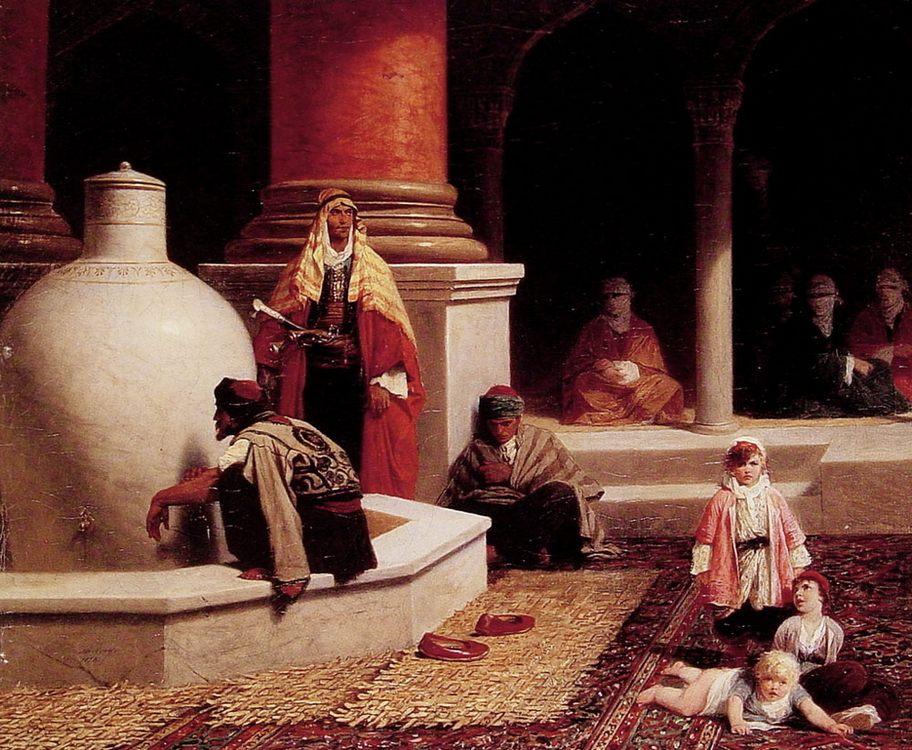 In the Harem :: Adolphe Yvon - Arab women (Harem Life scenes) in art  and painting ôîòî