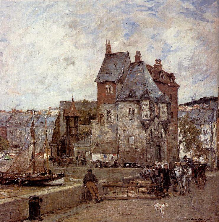 A French Harbour Town :: Adrien Gabriel Voisard-Margerie - Architecture ôîòî