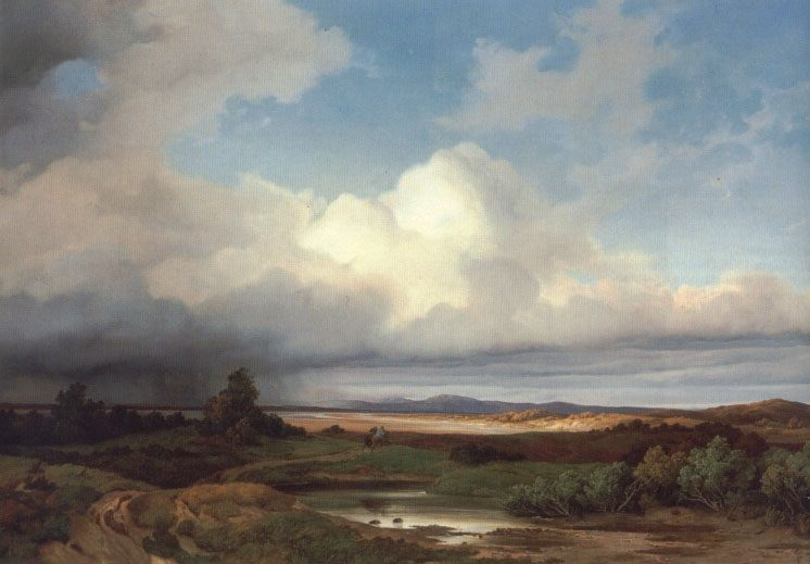 Landscape of Izara At a thunder-storm :: Albert Zimmerman - Landscapes ôîòî