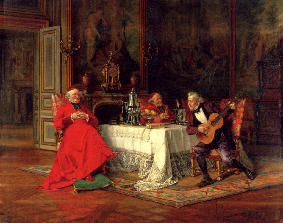 The Musical Interlude :: Alfred Charles Weber - Rich interiors ôîòî
