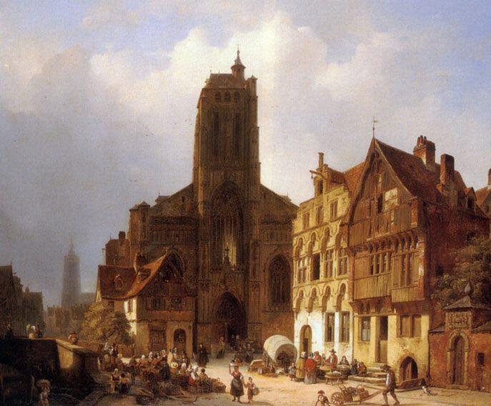 The market square in Brunswick :: Ambrose Vermerrsch - Architecture фото