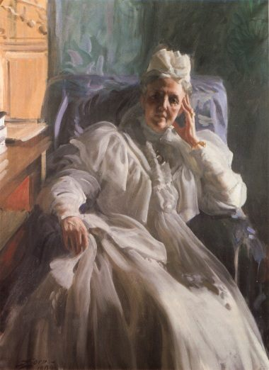 Drottning Sophia :: Anders Zorn - Portraits of women of middle age фото