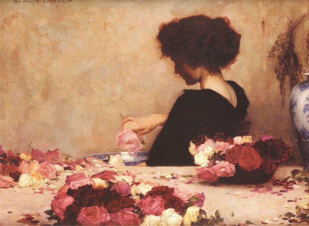 Pot Pourri :: Herbert James Draper - 7 female portraits ( the end of 19 centuries ) in art and painting ôîòî