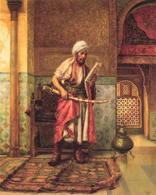 Reading the Order of the Day :: Reading the Order of the Day  - scenes of Oriental life ( Orientalism) in art and painting ôîòî