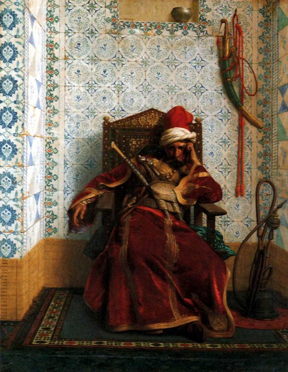 Markos Botsaris :: Jean-Leon Gerome - scenes of Oriental life (Orientalism) in art and painting ôîòî