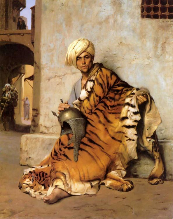 Pelt Merchant of Cairo :: Jean-Leon Gerome  - scenes of Oriental life ( Orientalism) in art and painting фото