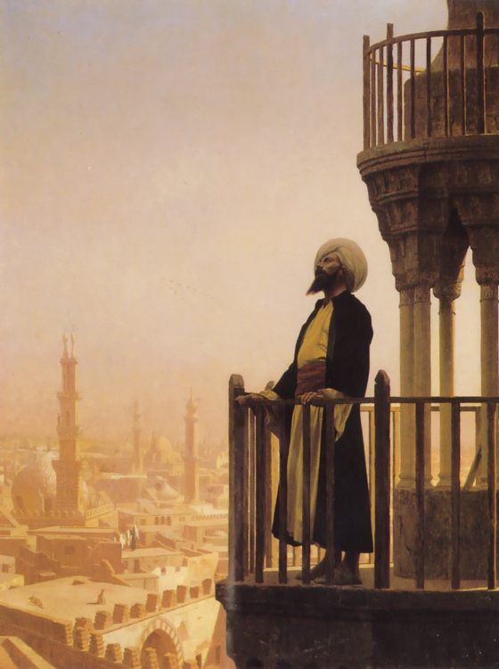 The Muezzin :: Jean-Leon Gerome  - scenes of Oriental life ( Orientalism) in art and painting ôîòî