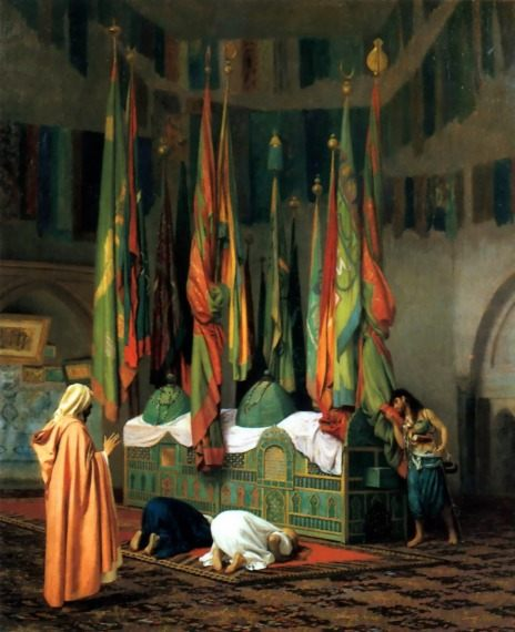 The Sentinel at the Sultan's Tomb :: Jean-Leon Gerome - scenes of Oriental life (Orientalism) in art and painting ôîòî