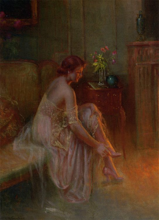 Shoe :: Delphin Enjolras - Interiors in art and painting фото
