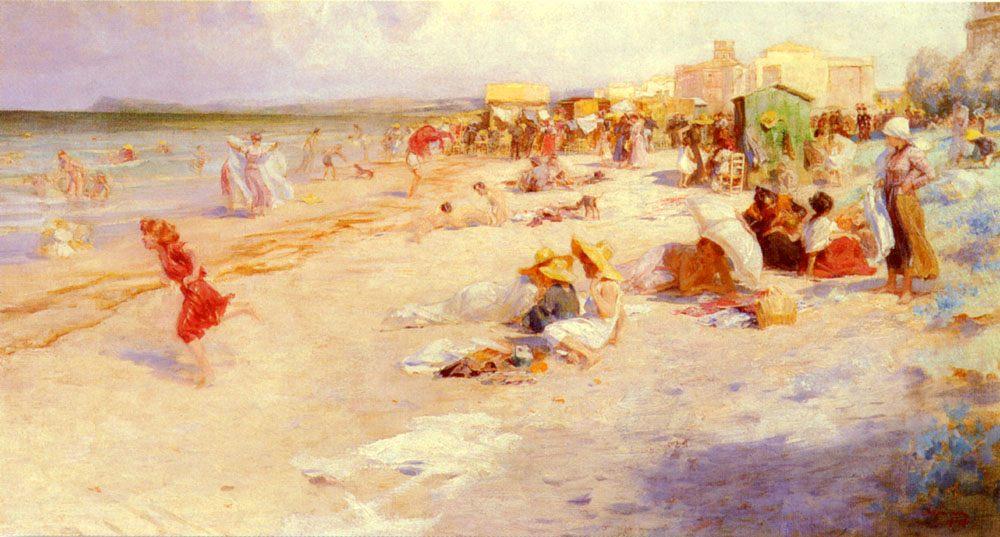 The Last Days Of Summer :: Alois Hans Schramm - Coastal landscapes ôîòî
