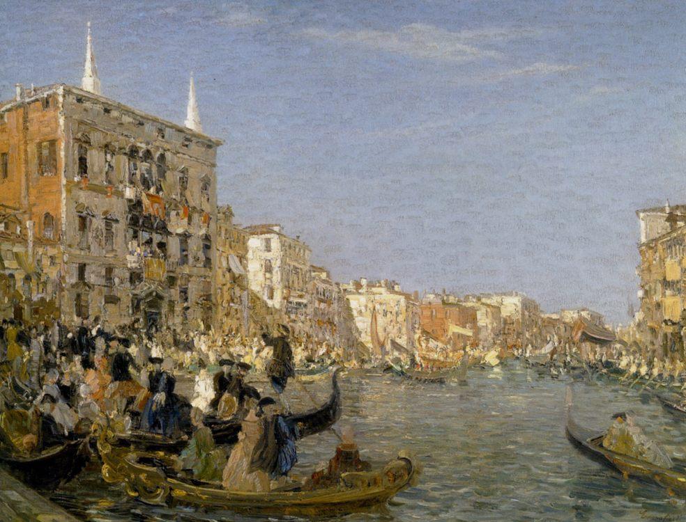 The Great Fete on the Grand Canal Venice :: Emma Ciardi  - Venice ôîòî