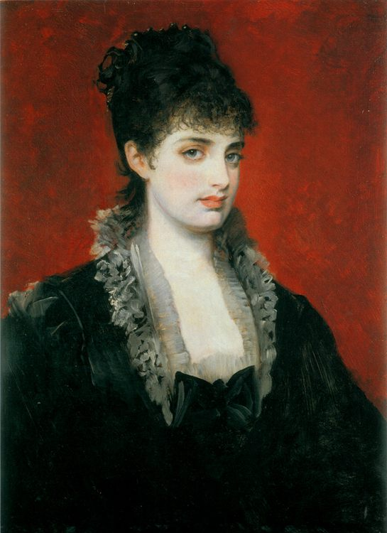 Anna von Waldberg :: Hans Makart - 7 female portraits ( the end of 19 centuries ) in art and painting ôîòî