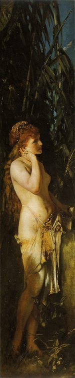 Obedience ( The Five Senses ) :: Hans Makart - Allegory in art and painting фото