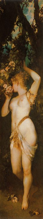 Smell [ The five senses ] :: Hans Makart - Allegory in art and painting ôîòî