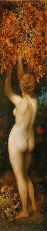 Taste ( The Five Senses )  :: Hans Makart - Allegory in art and painting ôîòî