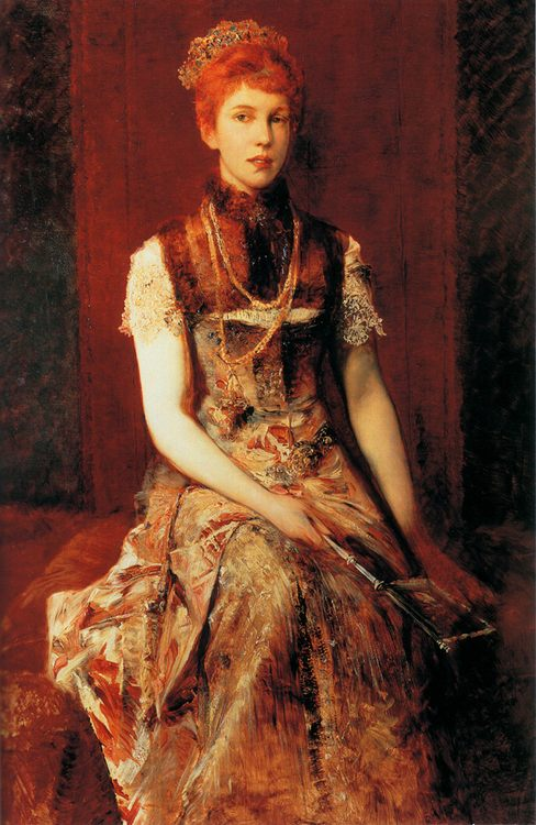 Dora Fournier-Gabillon :: Hans Makart - 6 woman's portraits hall ( The middle of 19 centuries ) in art and painting фото