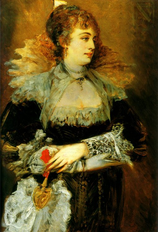 Hanna Klinkosch :: Hans Makart - 7 female portraits ( the end of 19 centuries ) in art and painting фото