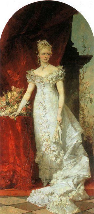 Crown Princess Stephanie :: Hans Makart - 7 female portraits ( the end of 19 centuries ) in art and painting ôîòî