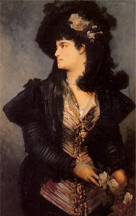 Portrait of a Lady :: Hans Makart - 7 female portraits ( the end of 19 centuries ) in art and painting фото