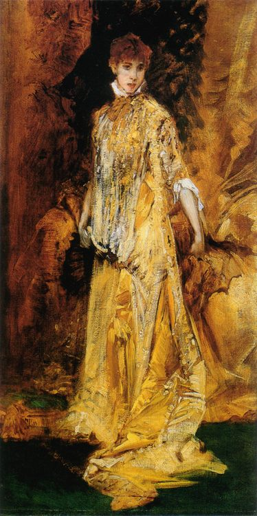Sarah Bernhardt :: Hans Makart - 7 female portraits ( the end of 19 centuries ) in art and painting фото