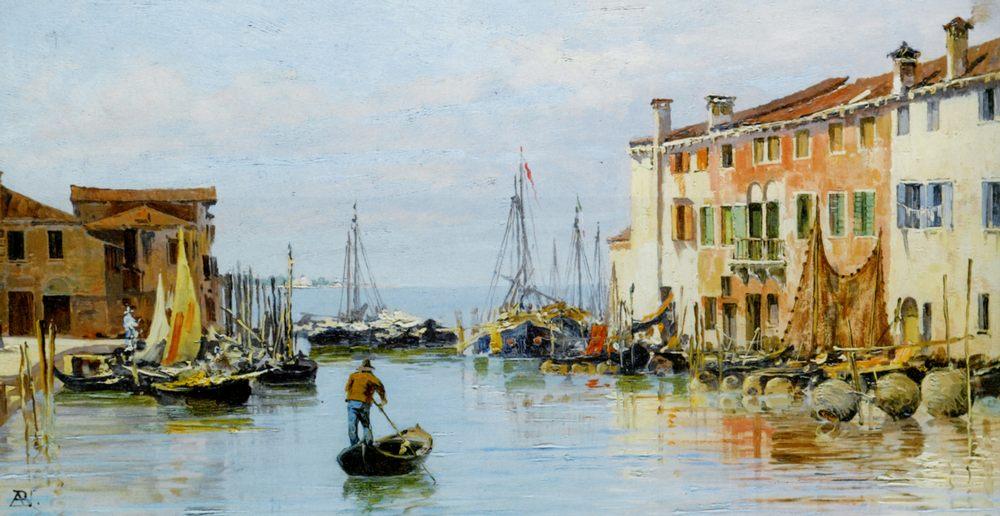 A Venetian Bay :: Antonietta Brandeis - Venice ôîòî