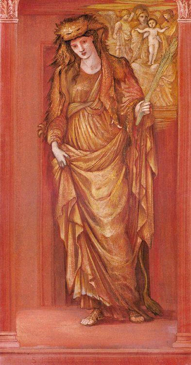 Sibylla Tiburtina :: Edward Burne-Jones - New фото