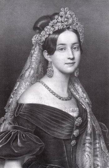 Amalie :: Joseph Karl Stieler  - 5 women portraits ( the beginning of 19 centuries ) фото