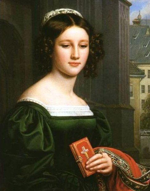 Anna Hillmayer :: Joseph Karl Stieler - 5 women portraits ( the beginning of 19 centuries ) ôîòî