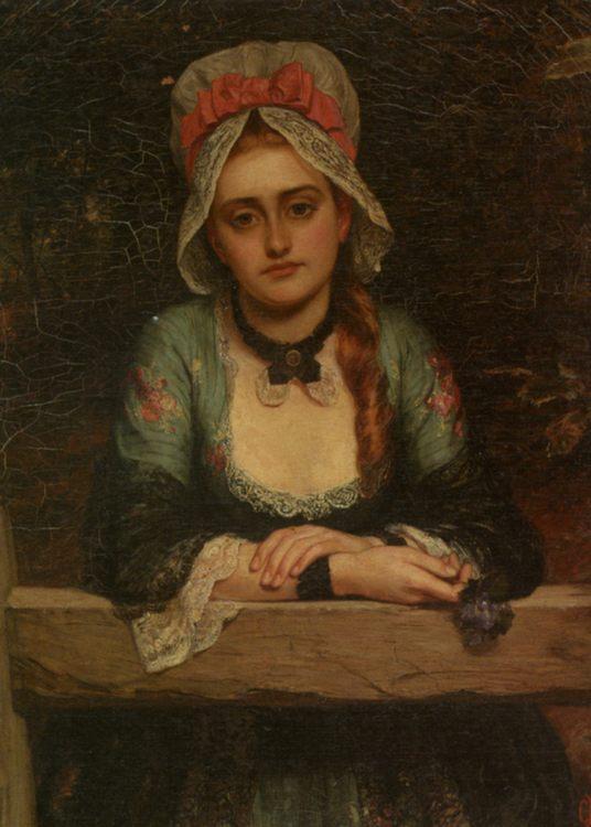 He Loves Me He Loves Me Not :: Charles Sillem Lidderdale  - Romantic scenes in art and painting ôîòî