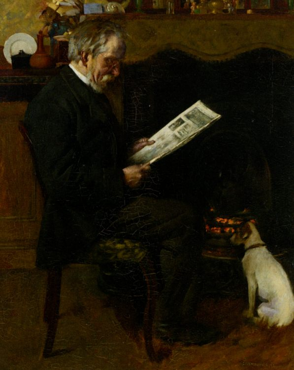Daily Graphic :: Charles Spencelayh - men's portraits 20th century фото