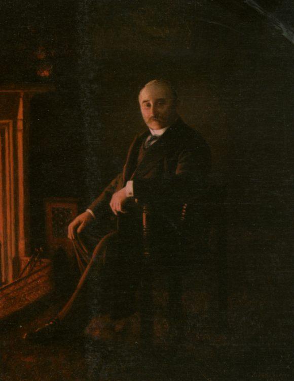 Waiting Up For Her :: Charles Spencelayh  - men's portraits 20th century ôîòî