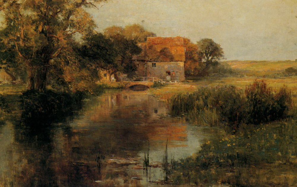 Dorchester Mill Oxfordshire :: Ernst Walbourn - Rural houses ôîòî