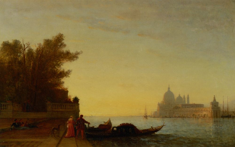 Venetian Scene :: Felix Francois Martigues Zeim - Venice фото