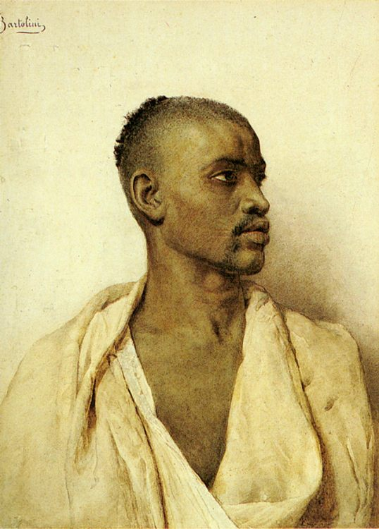 Portrait of an Arab Man :: Frederico Bartolini - men's portraits 20th century (1900-1930) first third фото