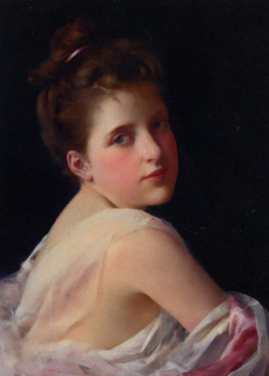Sweet Seventeen :: George Seymour - 7 female portraits ( the end of 19 centuries ) in art and painting фото
