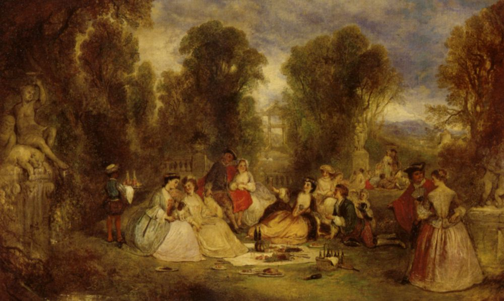 The Garden Party :: Henry Andrews - Picnic ôîòî
