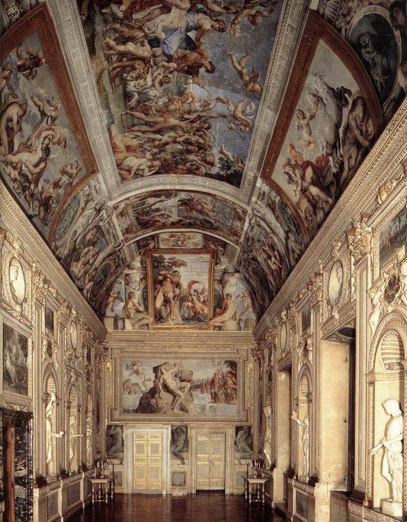 The Galleria Farnese Fresco, 1597-1602 :: Annibale Carracci - Rich interiors ôîòî