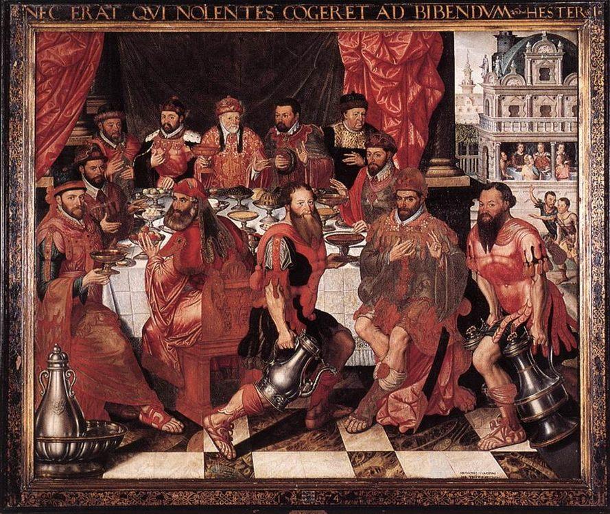 Banquet :: Antoon Claeissens - Rich interiors ôîòî