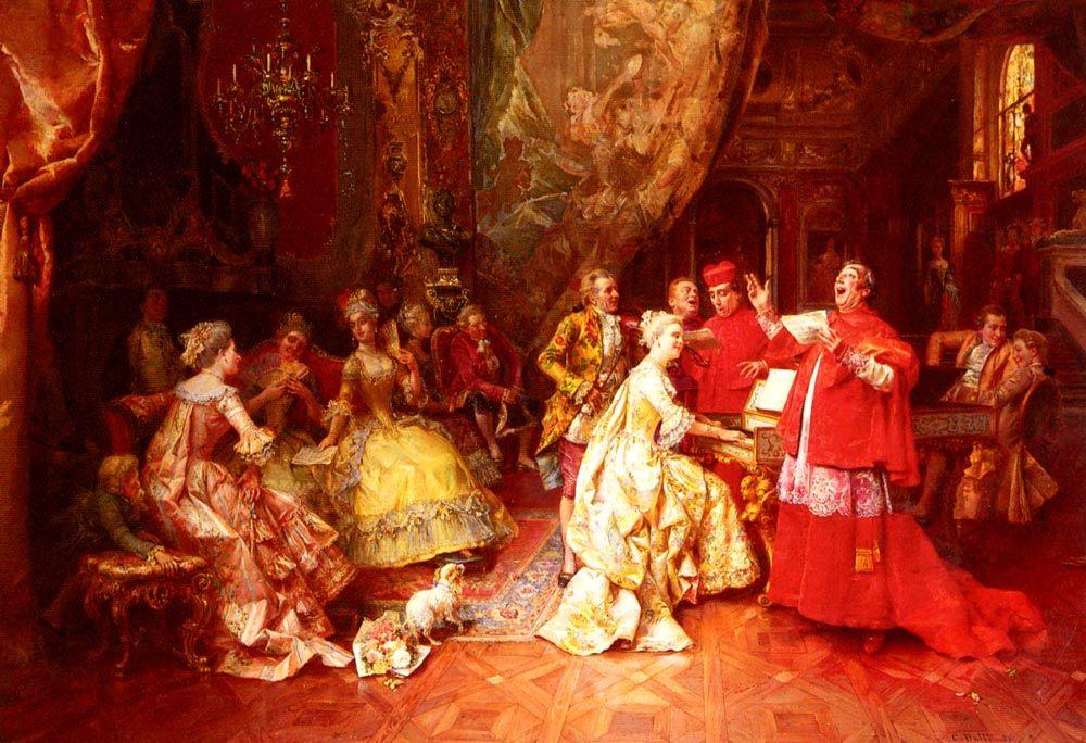 The Gala Recital :: Cesare-Auguste Detti  - Rich interiors ôîòî