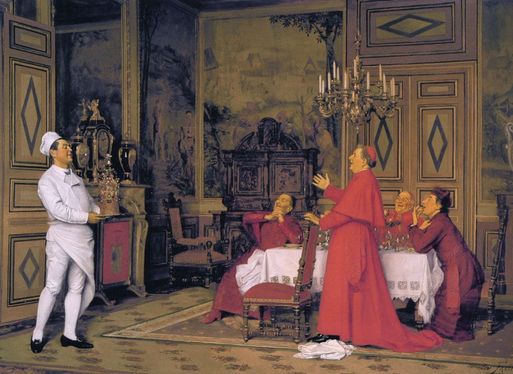The Cardinal's Birthday :: Jose Frappa - Rich interiors ôîòî