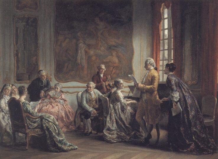 Matinee Musicale :: Leon Marie Dansaert - Rich interiors ôîòî