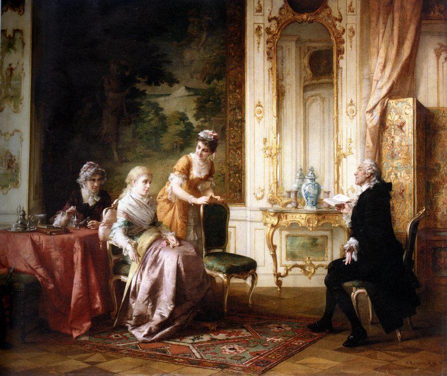 The Recitation :: Otto Erdmann - Rich interiors ôîòî