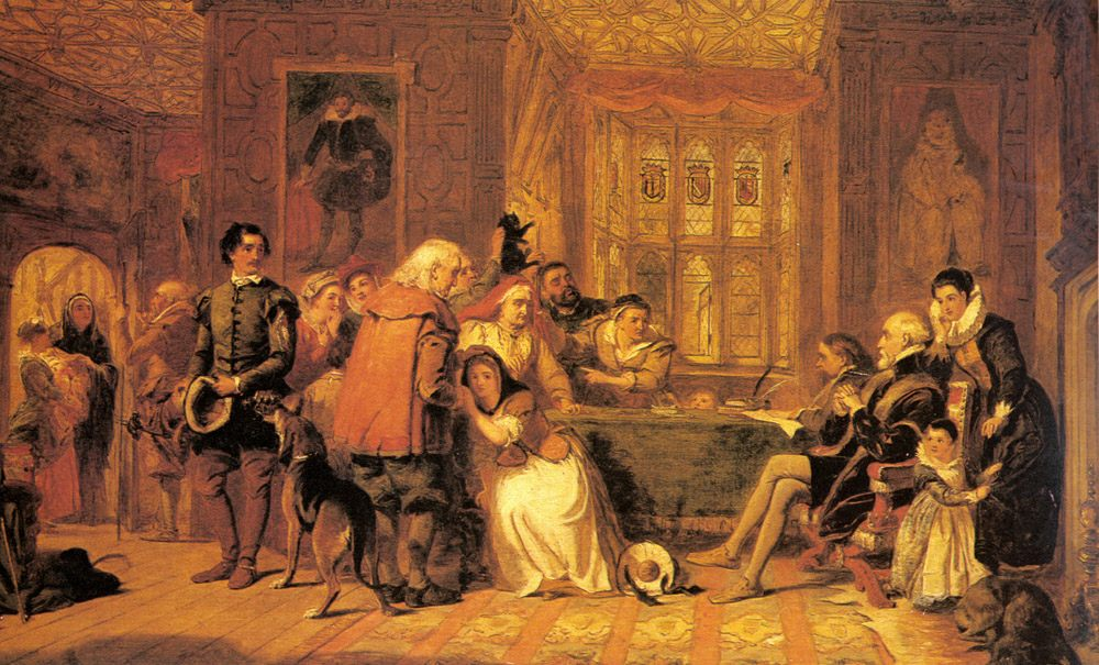 The Witch's Trial :: William Powell Frith - Rich interiors ôîòî