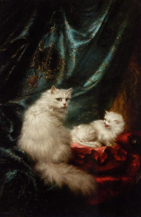 A Mothers Pride :: Carl Kahler - Cats фото