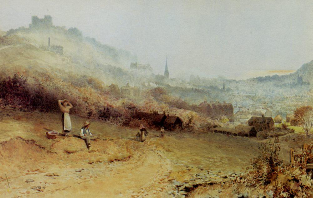 View of Dover :: Charles Robertson - Village life ôîòî