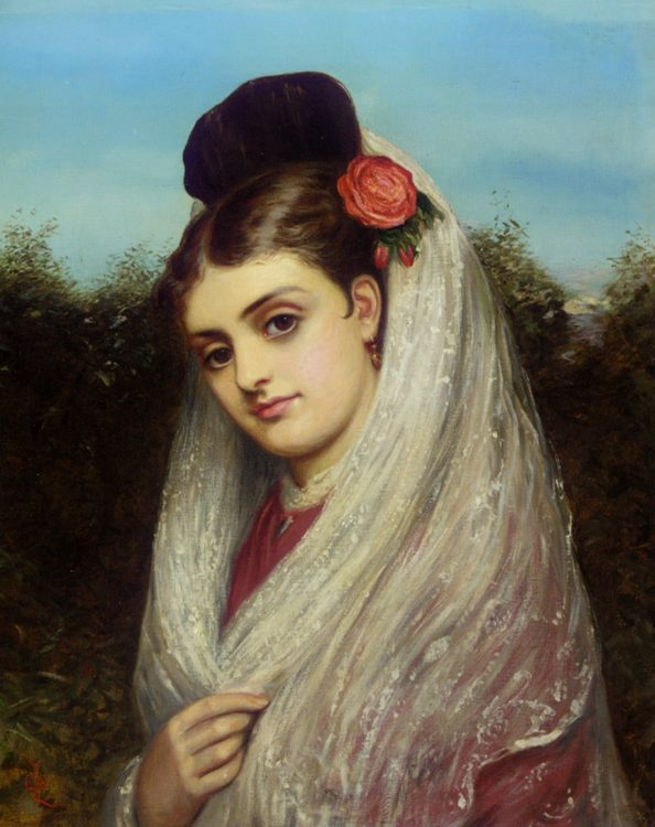 The Young Bride :: Charles Sillem Lidderdale - Wedding scenes ôîòî