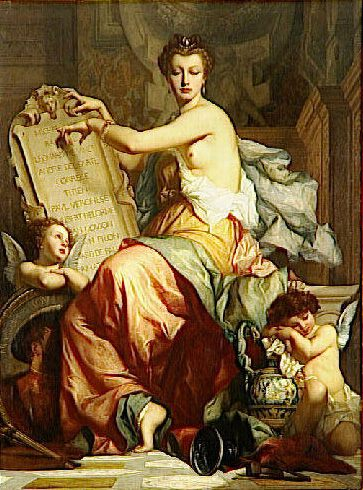 Renaissance :: Charles Zacharie Landelle - Allegory in art and painting фото